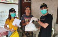 Salurkan Bantuan Alat Kesehatan dan Sembako untuk Masyarakat Manado, Jerry Sambuaga: Semoga Wabah Ini Cepat Berlalu