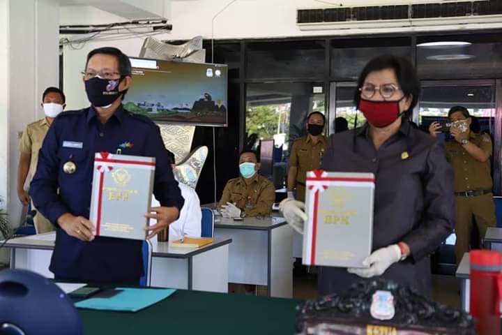 Pemkot Manado Raih Opini WTP. Wali Kota GSVL: Ini Kerja Keras Kita Bersama