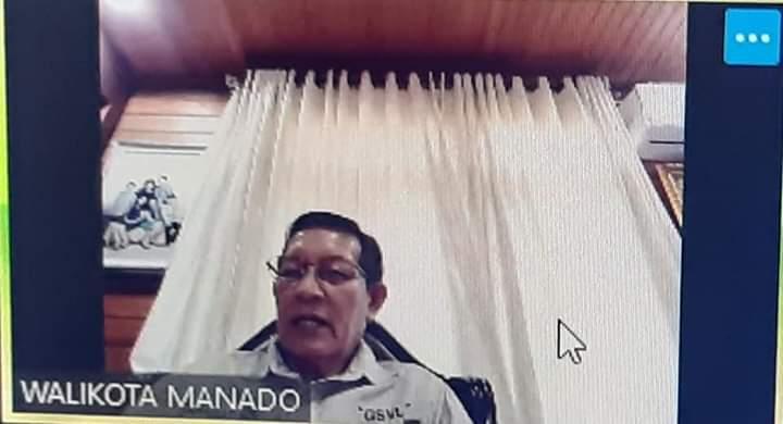 Maklumat Wali kota Manado Bagi Usaha Ritel Modern. GSVL: Putus Mata Rantai Covid-19, Jam Operasional Dari 09.00 - 21.00