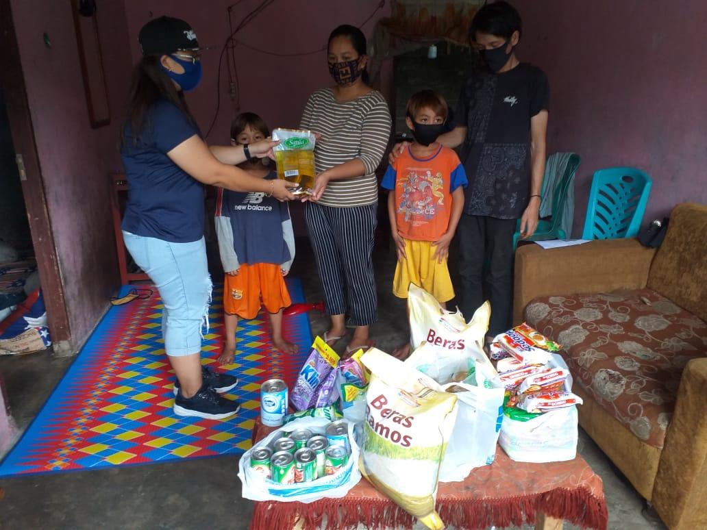 Respon Cepat,  VAP-SGR Berikan Bantuan Bagi Keluarga Tielung-Mongkau