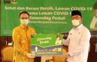 Kemendag Serahkan Bantuan Untuk Provinsi Banten. Wamendag: Pasar Rakyat Tetap Beroperasi, Jaga Protokol Kesehatan