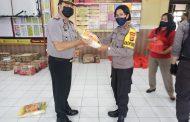 Semua Anggota Polres Minut Terima Bantuan Sembako