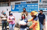 Wali kota GSVL Salurkan Secara Simbolis 5360 Paket Bantuan Social Safety Net Untuk Masyarakat di Kecamatan Wenang