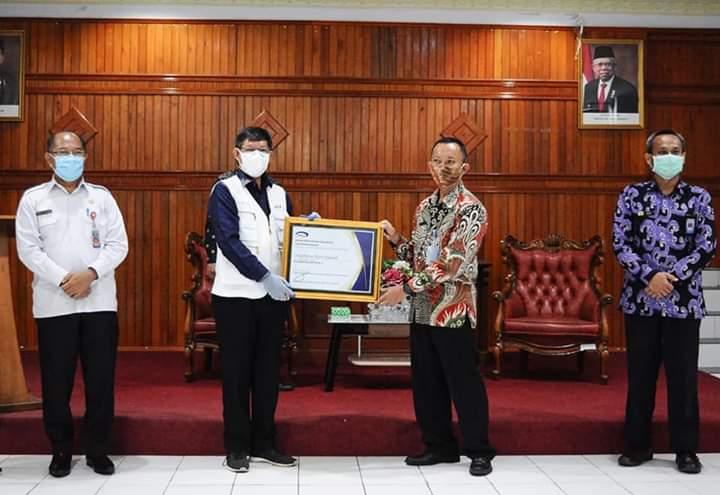 Terima Penghargaan, Pemkot Manado Raih Level 3 Kapabilitas APIP dari BPKP