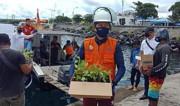 Gerakan Mari Jo Bakobong, Wali Kota GSVL Sambangi Bunaken Kepulauan Bawa Bibit Rica dan Jagung
