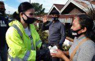 SGR Salurkan Bantuan di Kecamatan Dimembe