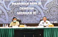 Bertemu Menhan, Pimpinan MPR RI Bahas Pokok-pokok Haluan Negara dan RUU HIP