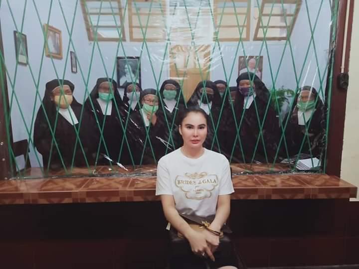 Sambangi Biarawati Karmel Santa Theresia, VAP-SGR Didoakan