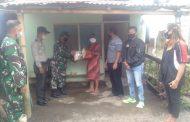 Gandeng Wartawan dan LSM,  Koramil 1310-04 Dimembe Bagikan Bantuan di Dua Kecamatan
