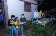 Bupati Tetty Paruntu Kunjungi Pengkhotbah Cilik, Wensy Torondek