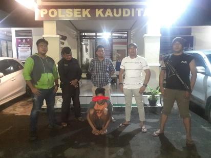 Buron Tiga Hari, Pelaku Utama Penganiayaan Panah Wayer Dibekuk Team Tikoes Kalapa Polsek Kauditan