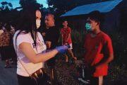 Aksi Sosial Terus Berlanjut,  SGR Sambangi Desa Pinenek