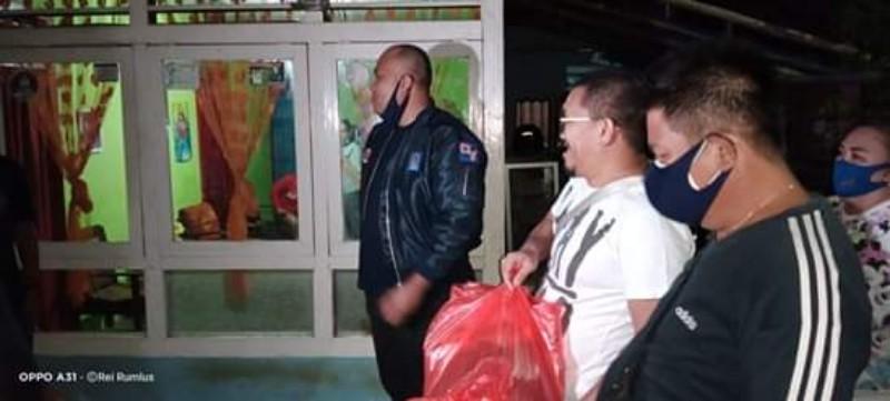 VAP Bantu Dua Keluarga Korban Kebakaran di Kecamatan Tikala