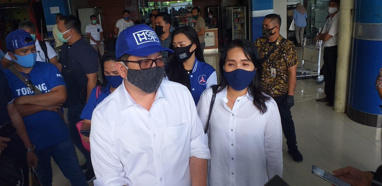 Bawa SK Demokrat dan PAN, MDB-HJP Disambut Kader dan Pendukung
