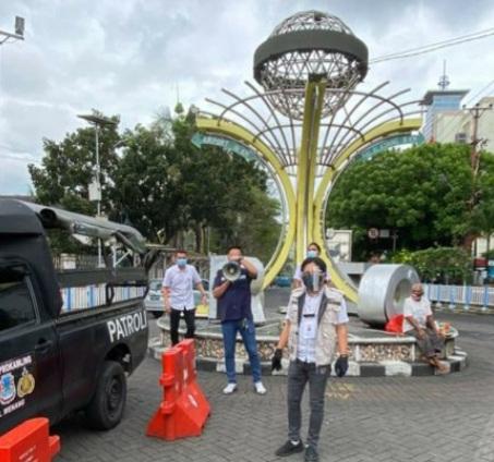 Kembali Zona Merah, Pemerintah Kecamatan Wenang Lebih Giatkan Sosialisasi Protap Covid-19