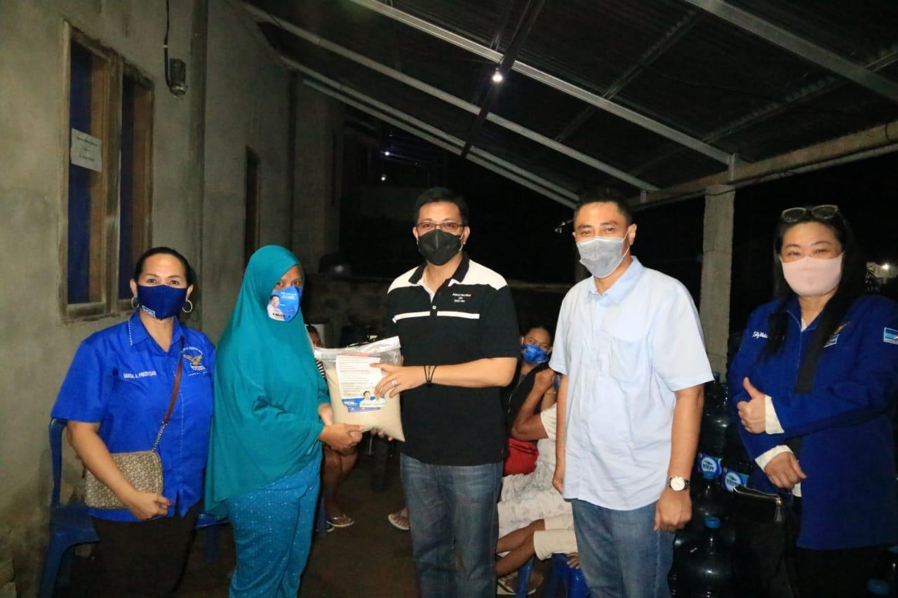 HJP Berkunjung dan Berbagi Bantuan di 5 Kelurahan di Kota Manado