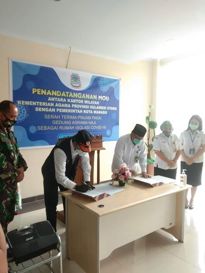 Rumah Singgah Asrama Haji Terbuka untuk Semua Warga Manado. Wali Kota GSVL : Fasilitas Ini Sangat Penting