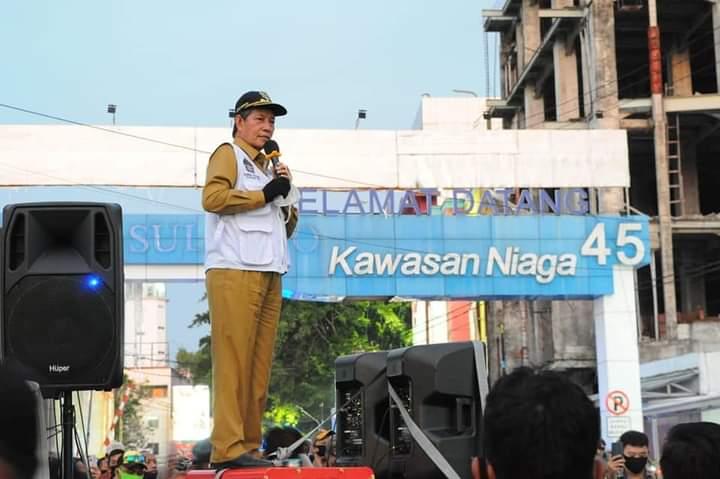 Wali Kota GSVL Ajak Warga Bergotong Royong Lawan Penyebaran Covid-19
