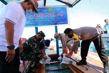 Wali kota GSVL Launching Budidaya Ikan Laut