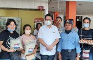 Wujud Kasih di Tengah Pandemi Covid-19, Mor-HJP Bagikan Bantuan Tanpa Pilih Kasih