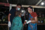 Putra Asli Likupang Pulang Kampung, Dampingi SGR Berbagi Bantuan