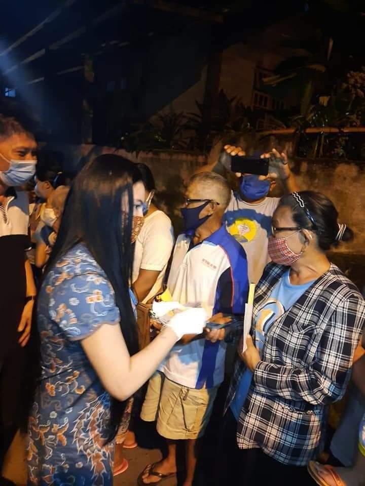 Sambangi Saronsong II,  Saskar Sebut VAP dan SGR dari Dulu Selalu Berbuat Baik