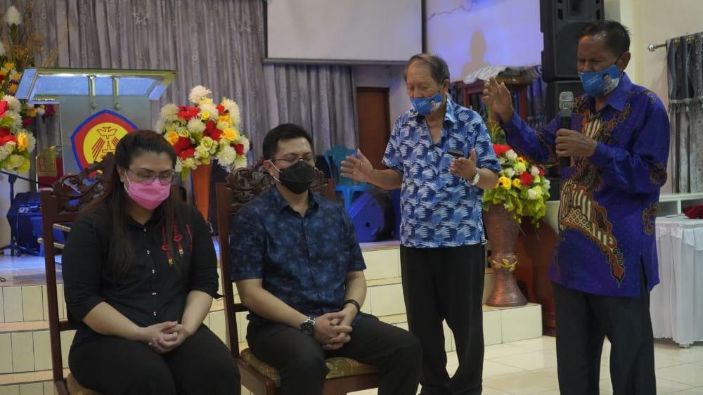 MDB-HJP Didoakan Jemaat dan Pendeta GKMI Yehuda