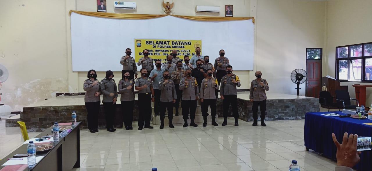 Tim Itwasda Polda Sulut supervisi di Polres Minsel tinjau Rusun dan Guest House Rekonfu