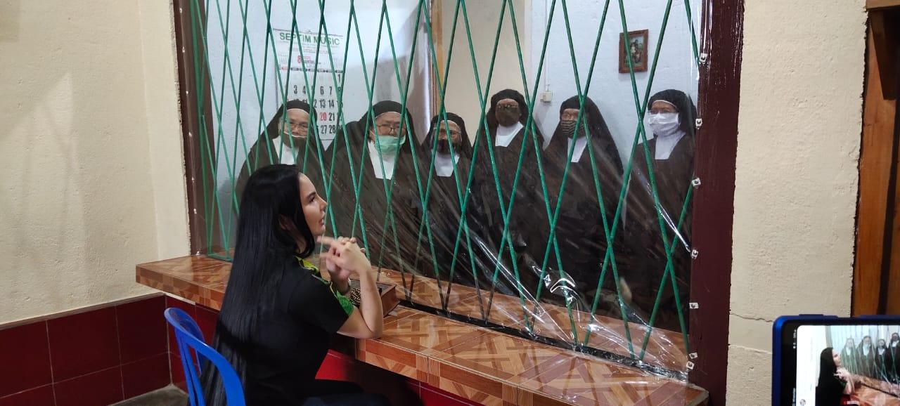 Lakukan Kunjungan Religius,  SGR Minta Doa Restu Dari Biarawati