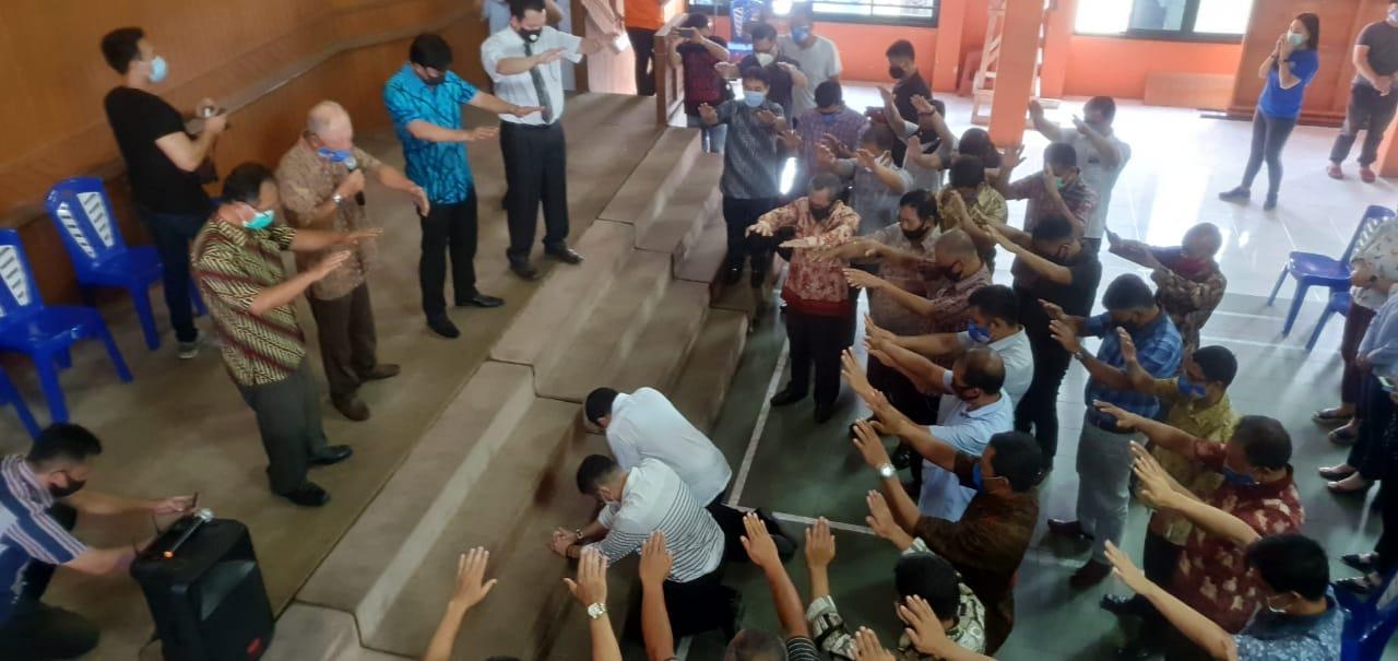 MOR-HJP Didoakan Hamba Tuhan Gereja Masehi Advent Hari Ketujuh (GMAHK) Se-Kota Manado