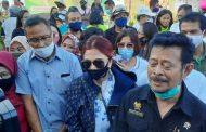 VAP Dampingi Mentan Yasin Limpo, Pertanian di Minut Disupport
