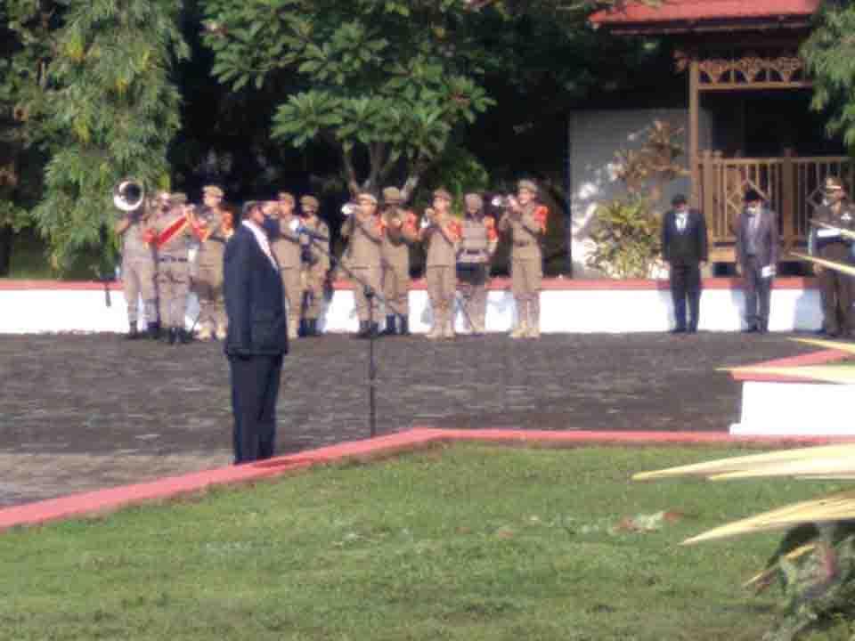 GSVL -MOR Tabur Bunga di Taman Makam Pahlawan Kairagi
