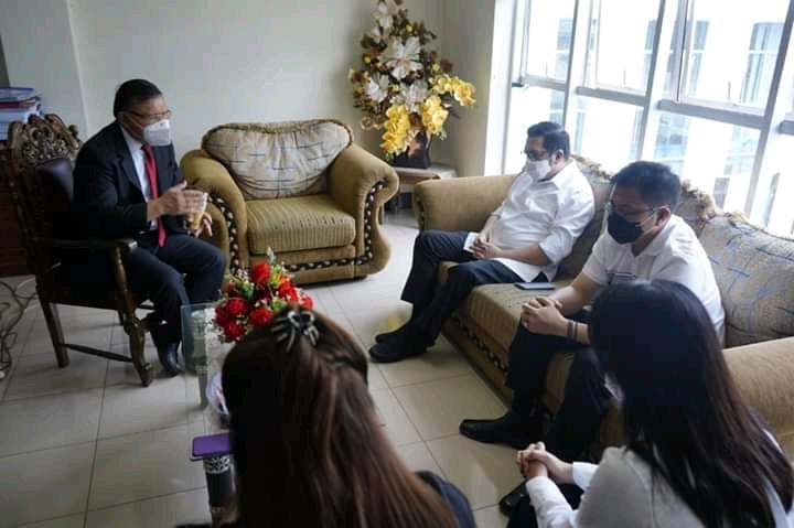 HJP Bersilaturahmi dengan Habib Husen Assegaf, Dapat Wejangan dan Dukungan Doa