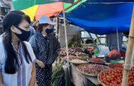 VAP Didoakan Pedagang di Pasar Wawalintoan Tondano