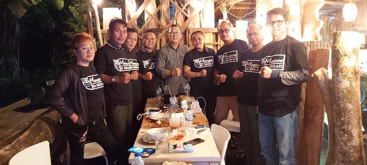 Relawan Manguni Diberkati Siap Mengawal dan Mendukung Paslon MOR-HJP