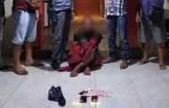 Tersangka Pencurian di Alfamart Amurang diringkus Polisi, Uang Tunai Jutaan Rupiah Diamankan