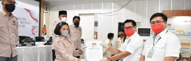 KPU Sukses Laksanakan Tahapan Pendaftaran Paslon di Hari Pertama