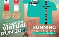 Mareno Running Club, Gelar Tomohon Virtual Run 2020