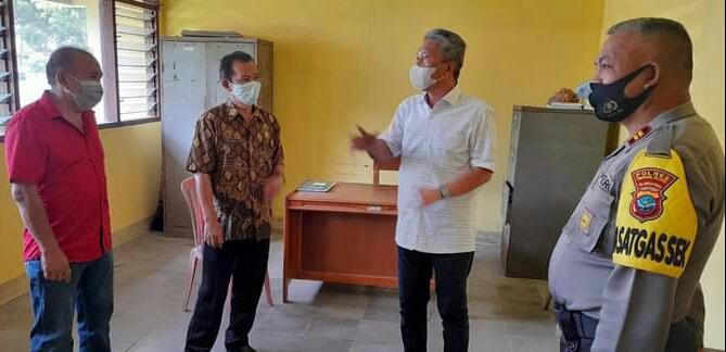 Sambangi Kantor Kecamatan Tenga, FDW: Penerapan Tatanan Normal Baru Secara Efektif dan Terintegrasi