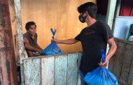 Pakai Dana Pribadi, Relawan Milenial SGR-NAP Salurkan Bantuan di Liksel
