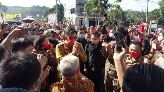 Pejabat Bupati Pertama Kali Melakukan Tugasnya di Kabupaten Minsel