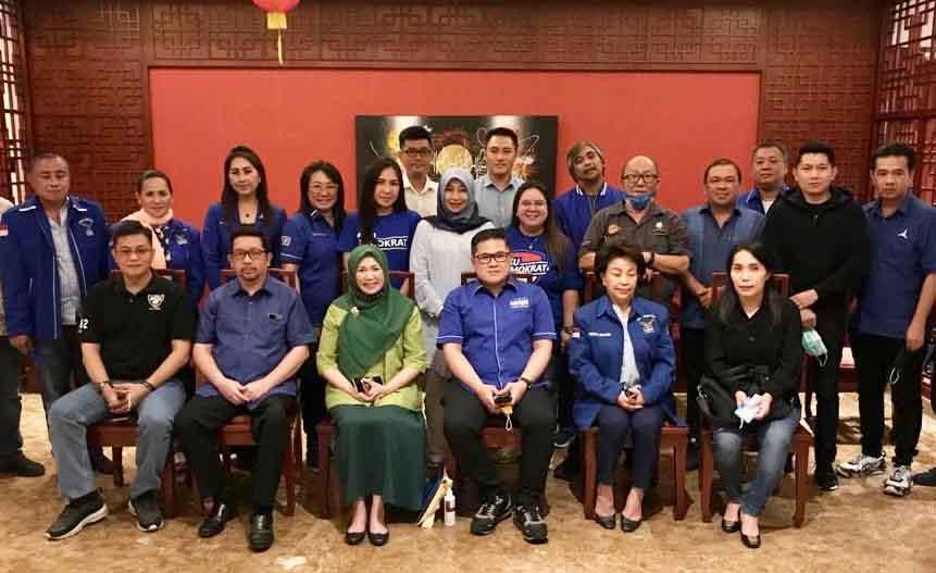 Gantikan Mangindaan, Pangerang di Tunjuk Sebagai PLT Ketua DPD I Partai Demokrat Sulut