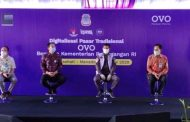 OVO Digitalisasi Pasar Manado, Wamendag Jerry Sambuaga Dorong Adaptasi Teknologi Digital dan QRIS di Pasar Bersehati