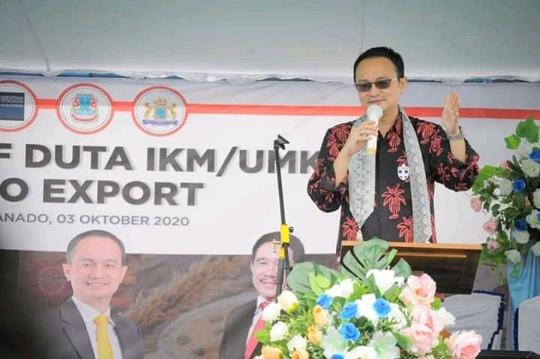 Pertemuan dengan Para Pelaku Usaha, Wamendag Jerry Sambuaga Dorong UMKM Manado Berorientasi Ekspor