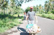 JG Berbaur Bersama RGK Bersihkan Sampah di TPA Darurat Jembatan Soekarno