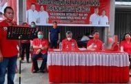 PDI-Perjuangan Minsel Gelar Konsolidasi Pemenangan di Kecamatan Amurang