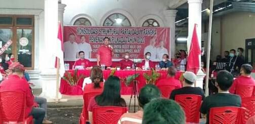 Mesin Partai Terus Dipanaskan, Kini PDI-Perjuangan Konsolidasi di Kumelembuai