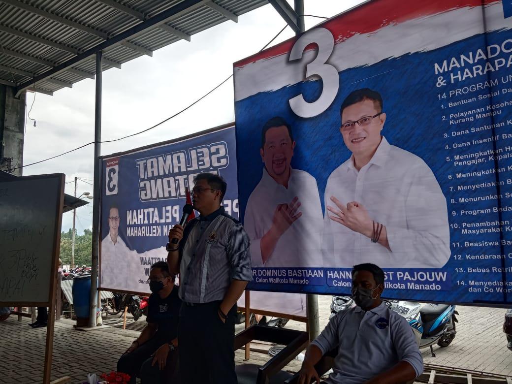 Pelantikan Relawan Tim Pemenangan Mor-HJP Tingkat Kelurahan. HJP: Berjuanglah Gasspool Jangan Sampai Kendor