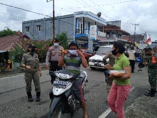 Tahap Kampanye Pilkada, Polres Minsel dan TNI gencar back-up Operasi Yustisi
