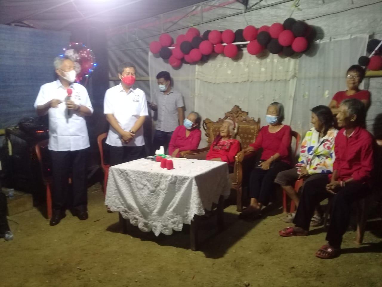 FDW-PYR Penuhi Undangan Keluarga Mokodongan - Rorong di Desa Matani